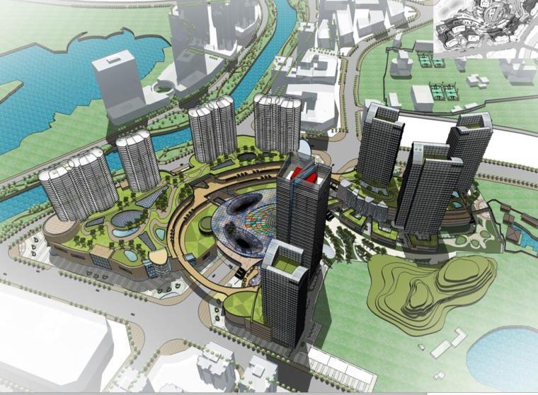 [云南]某城市综合体商业建筑方案文本(PPT+94 页)