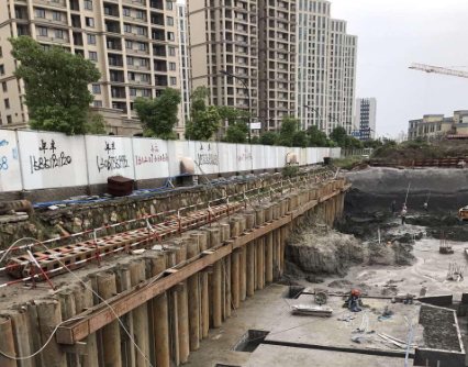 台州地下室基坑围护设计初步方案