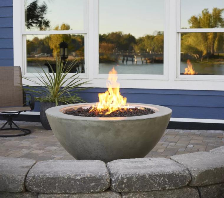 庭院里那一抹温暖·火炉_55
