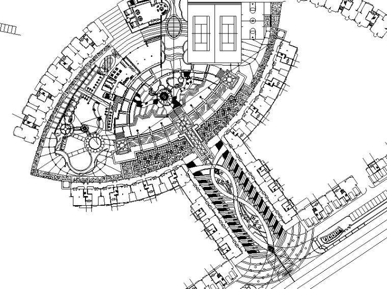 [重庆]某花园居住区全套景观施工图设计(包含+72页)_1