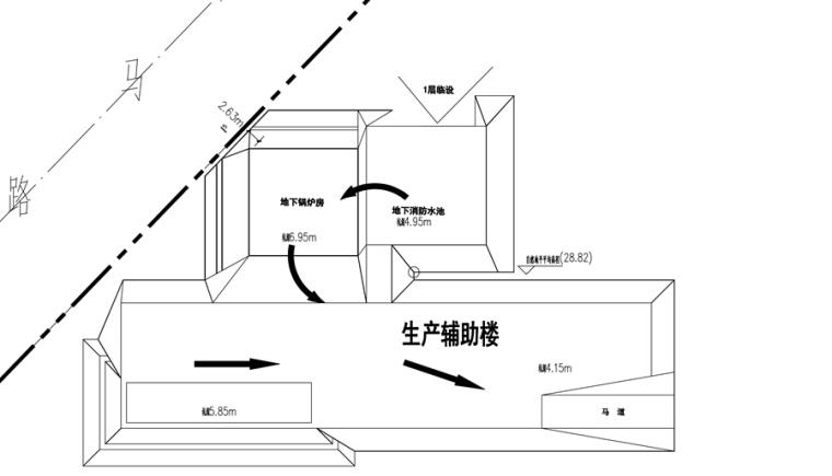 速递处理中心项目基坑土钉墙支护工程施工方案-出土计划图