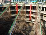 超高层建筑大体积混凝土底板连续无缝浇筑施工工法