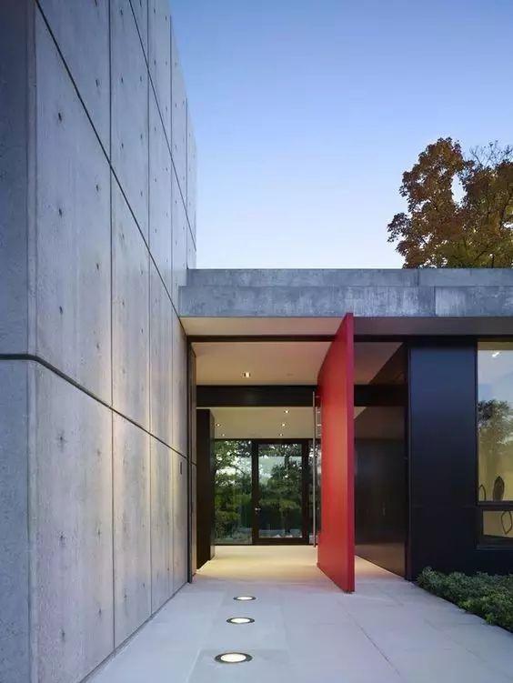 超有设计感的建筑入口_2