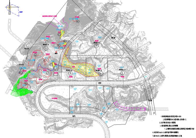 道路及周边地块场坪投资估算及可行性研究(估算+图纸+可研)_1