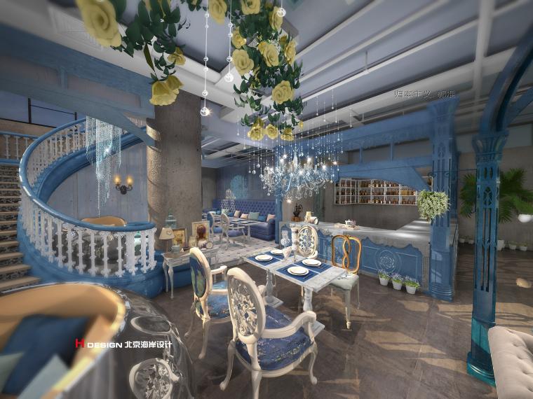 咖啡厅设计公司推荐-海岸咖啡厅设计_9