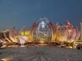 [江苏]城市地标莲花馆公园全套方案文本+施工图+实景照片