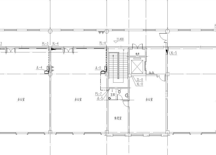 幼儿园地上四层给排水、消防设计图(含系统图、平面图、大样图)