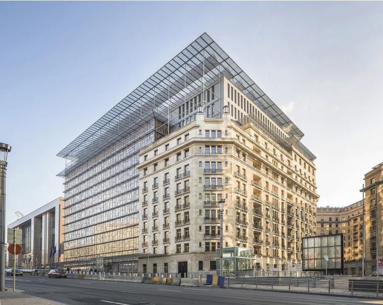 比利时欧盟新总部大楼
