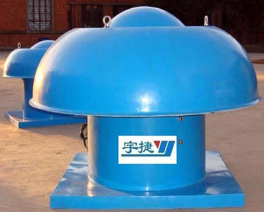 琼海DWT-1-6型轴流式屋顶风机现场安装案例
