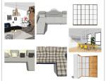 懒人整合包,32套北欧风格混合家具【SU】