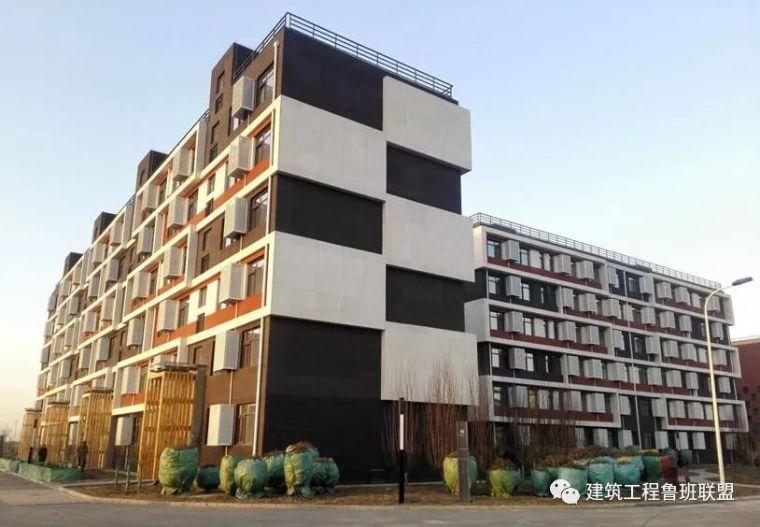 采用钢结构住宅技术建造的公寓楼,学习一下其工程技术!