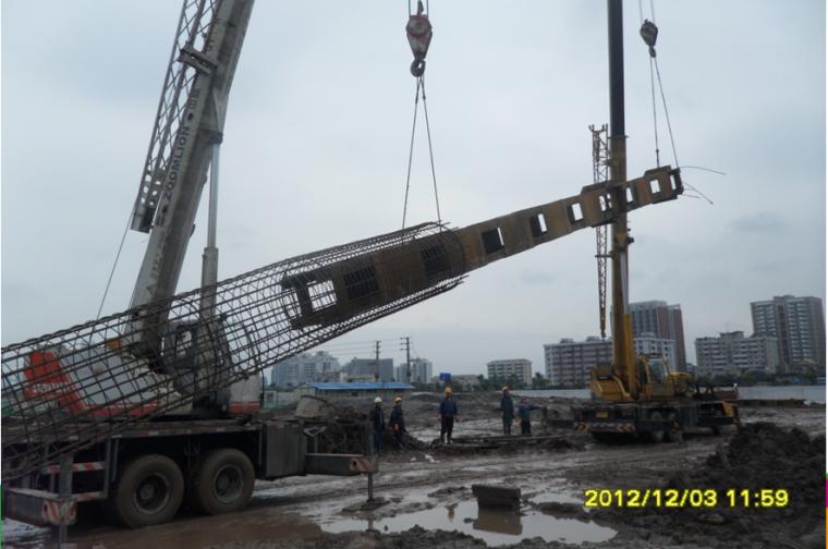 立柱桩及格构柱施工简介