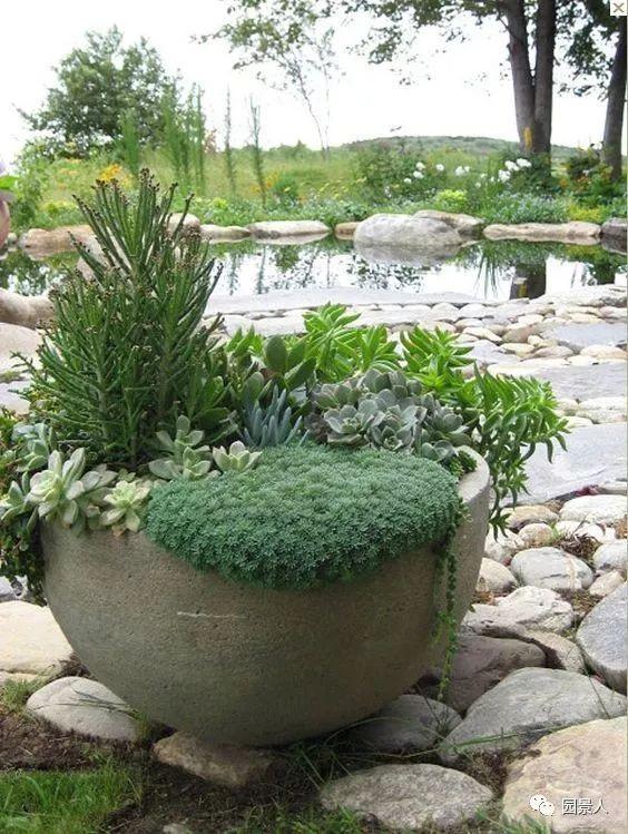 花园景观·石器小景_30