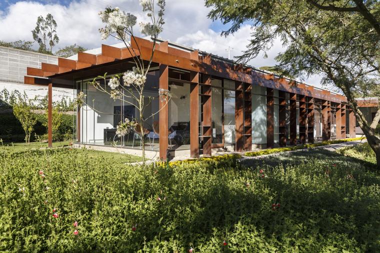厄瓜多尔隐形边界的住宅-3