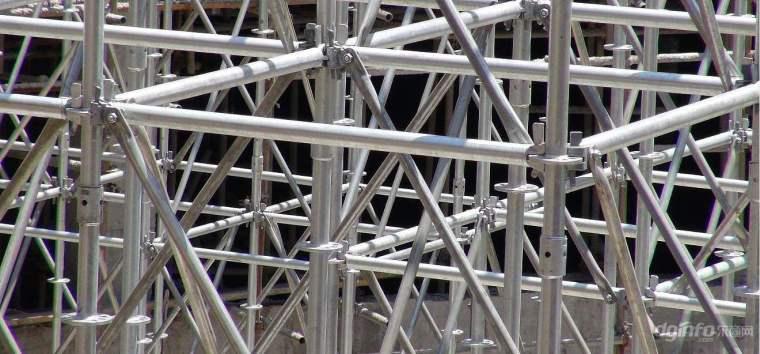 落地式脚手架搭设监理细则资料下载-公租房脚手架安装及主体结构工程监理细则