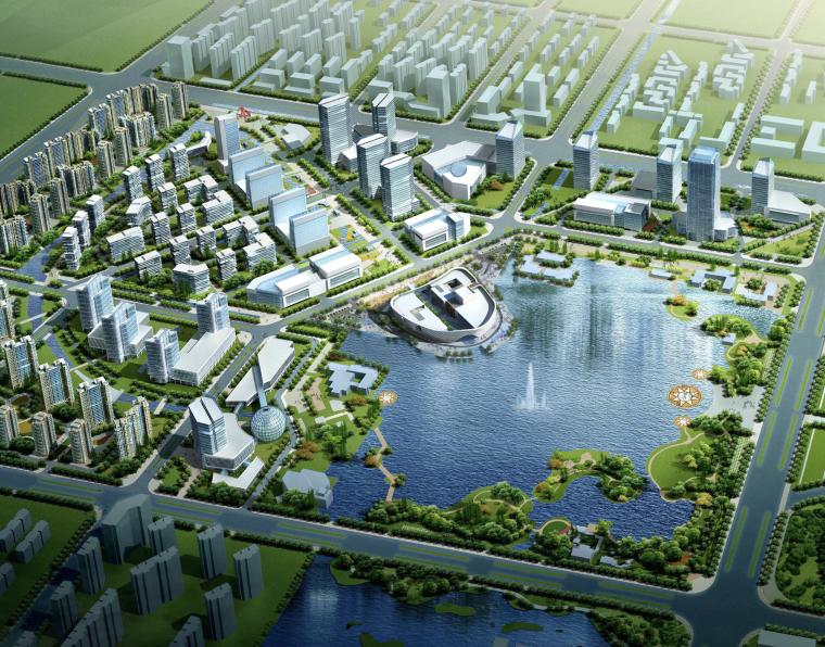 [江苏]城市公园文化艺术中心建筑方案文本(CAD+模型+文本)