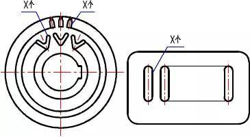 CAD制图中的那些简化画法,学习了!