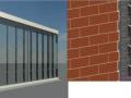 基于Revit石材幕墻案例整體模型
