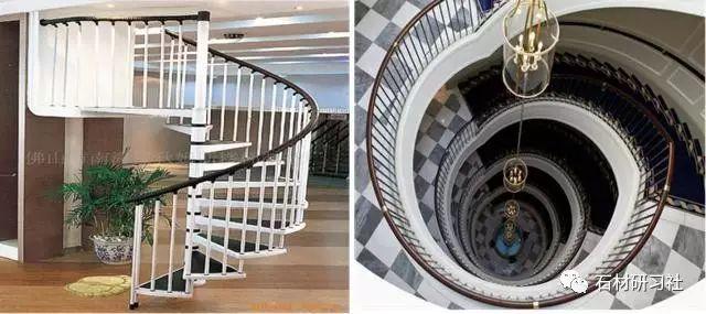 旋转楼梯施工方法大全!计算方式大全