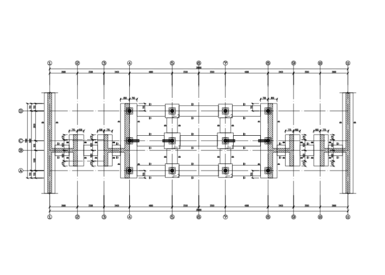 单层砖木结构复古建筑施工图(建筑、结构、电气、给排水)