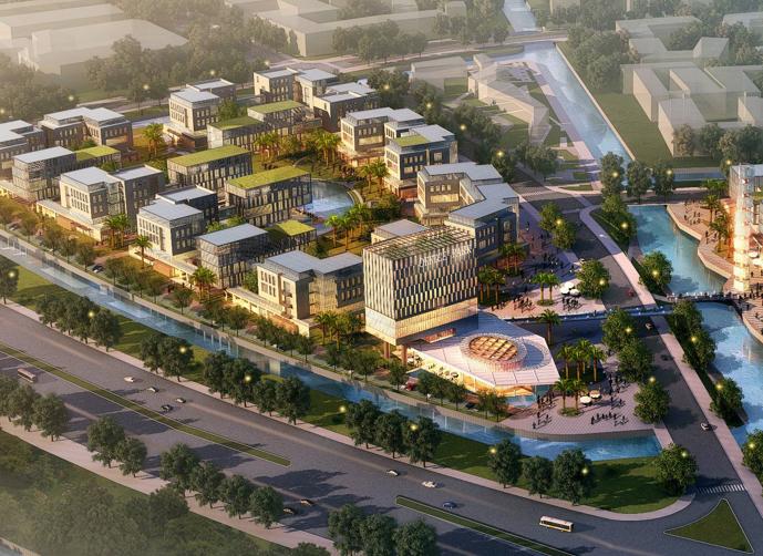 [上海]昆山花桥外包产业园建筑设计方案文本
