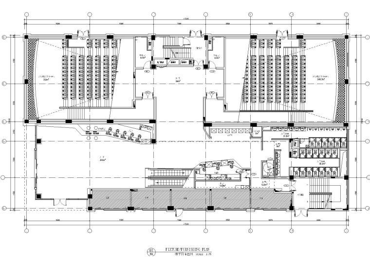 [广州]香港OFT-珠海英皇UA影城装修施工图+机电图+实景照片