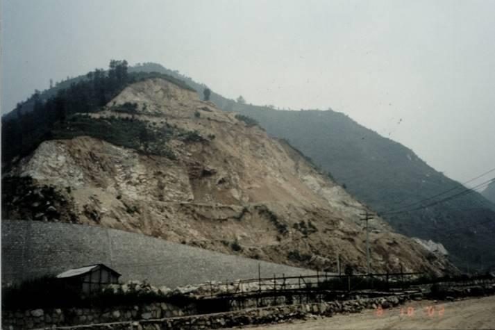 高边坡工程勘察设计培训讲义-西安秦岭某试验基地花岗岩高边坡滑坡