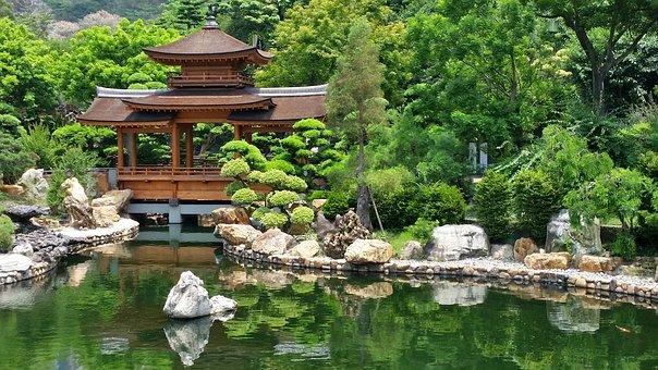 日式禅意园林|春来花自青,秋至叶飘零