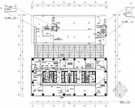 [广东]三十四层知名办公楼电气设计施工图