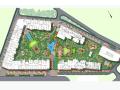[广州]欧陆风情商用办公区景观方案设计