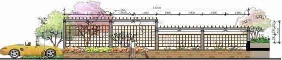 [扬州]清新自然花园小区景观扩初设计方案(风格清新)-竖向设计图