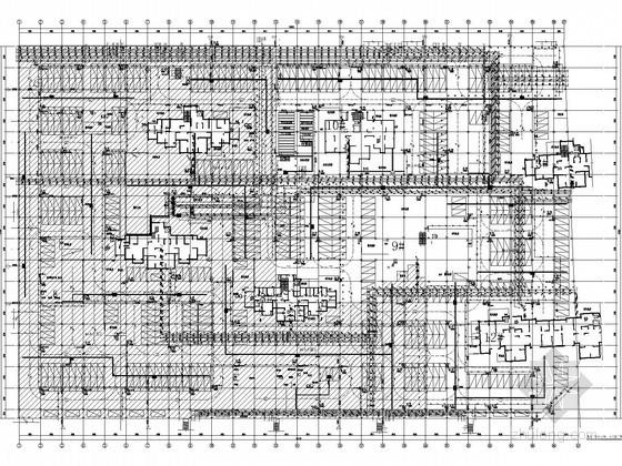 大型地下停车场及设备泵房给排水施工图纸(灭火器配置系统)
