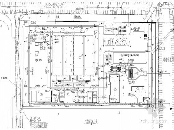 [广东]6万平污水处理厂建筑给排水及工艺全套图纸(CASS工艺)