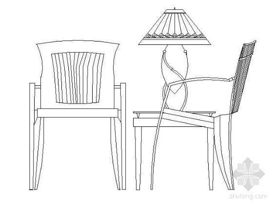 桌椅图块全集