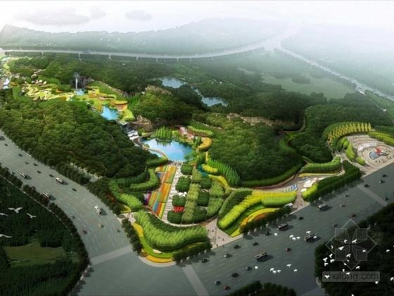 [江苏]城市中央商务区休闲公园景观设计方案