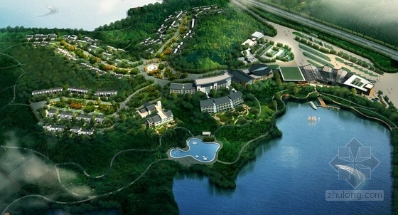 [大连]新中式风格旅游服务区规划设计方案文本