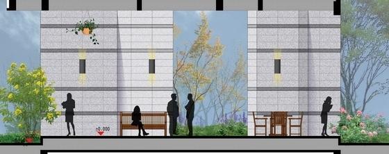 [武汉]典雅住宅小区及售楼处附属绿地景观扩初设计方案(知名设计公-竖向设计图
