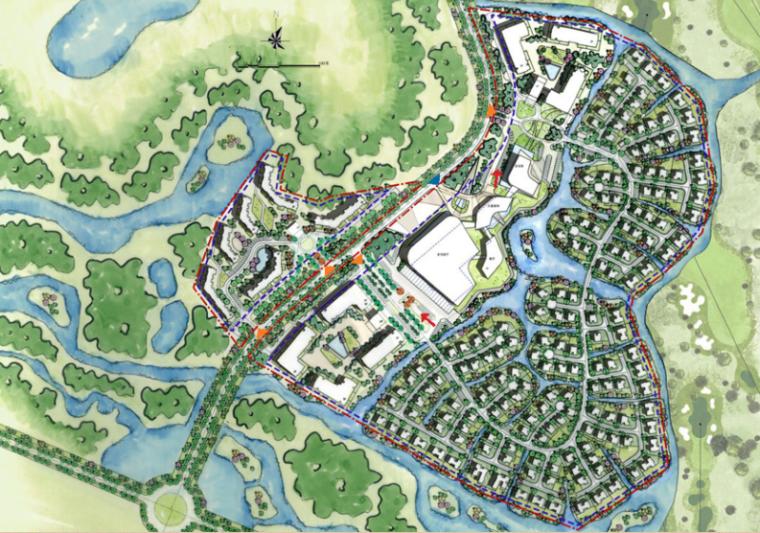 [广东]三亚椰风路项目概念景观设计(PDF+81页)-平面