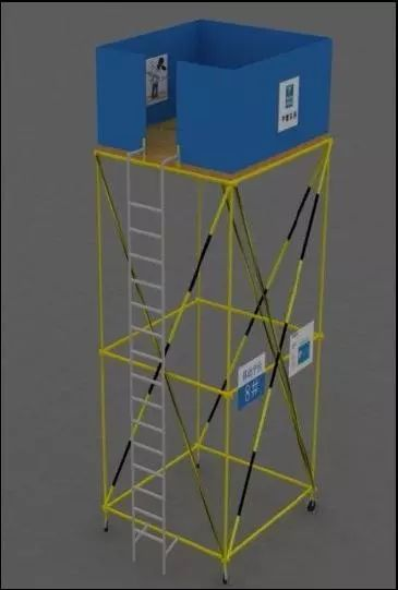 施工现场洞口、临边防护做法及图示_20