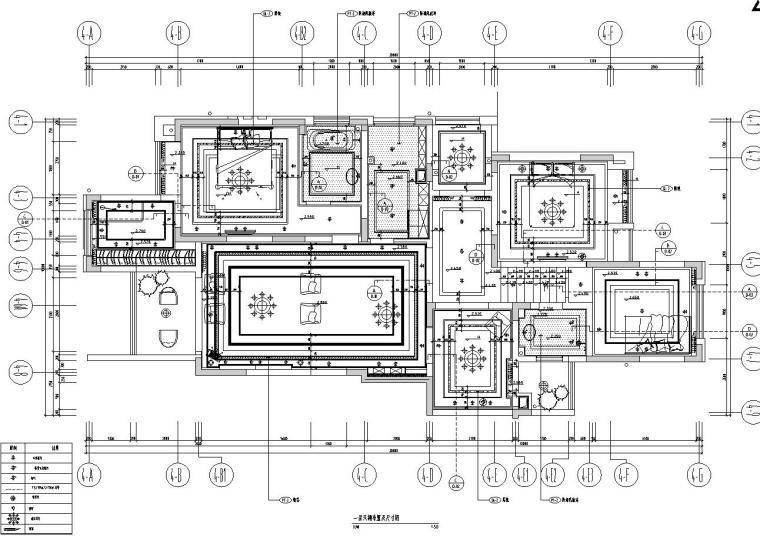 盛世融城别墅样板房室内施工图设计(CAD+实景图)