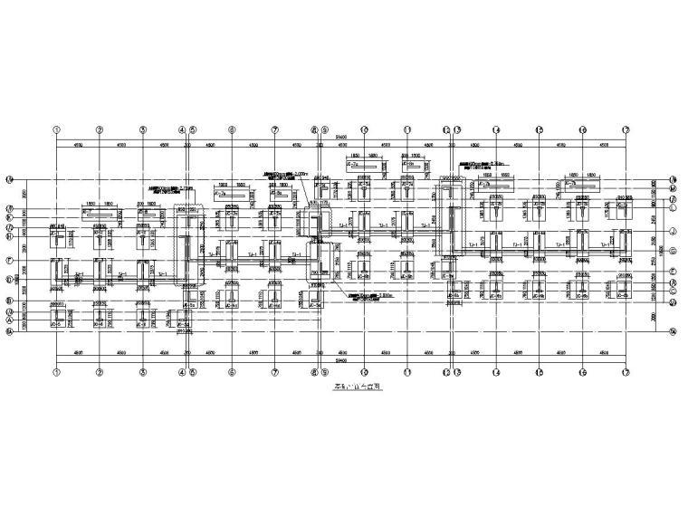国际度假区别墅建筑结构施工图(2栋联排)