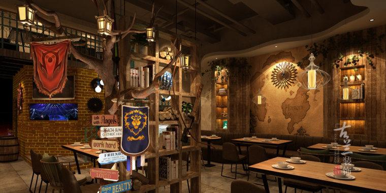 炉鱼部落-榆林专业特色餐厅设计公司_4