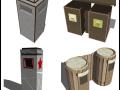 平时收集的一些常用的su垃圾箱素材分享给大家!