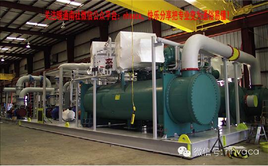 冷热源机房的设计及工程概算