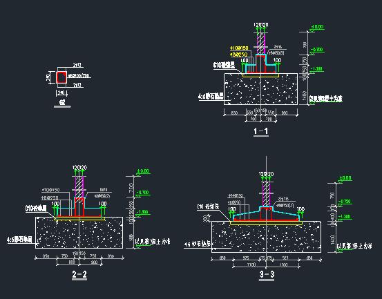 6层框架结构住宅楼建筑结构全套图_12