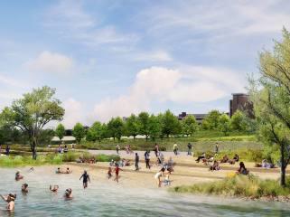 底特律西部滨河公园