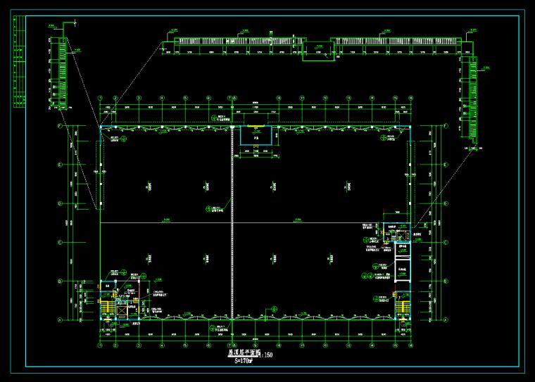 3层厂房建筑图