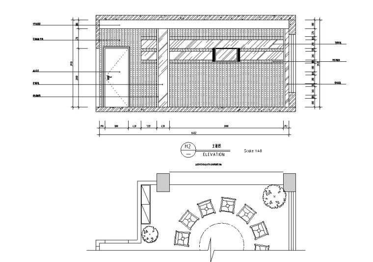 [南充]中式风酒楼设计施工图(含效果图)_5