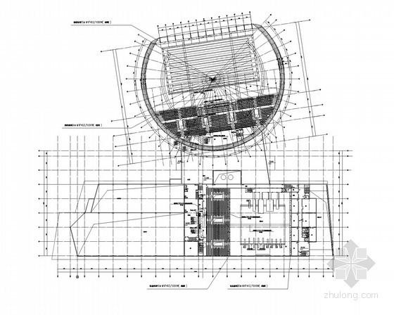 [辽宁]甲级体育中心强弱电施工图纸91张(游泳馆1563个、跳水馆984个)