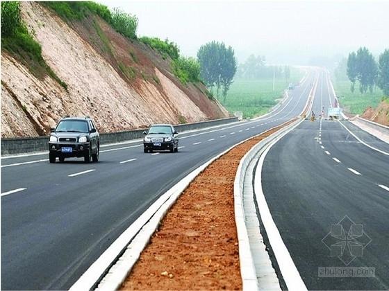 一级公路工程路基路面及管道工程施工图31张(含各种设计数据)